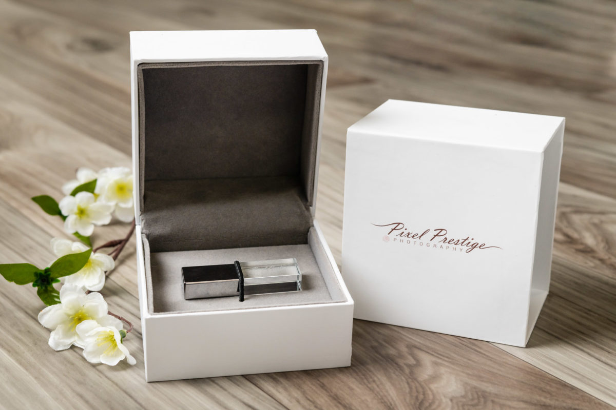 Product photography of USB drive for Pixel Prestige